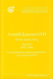 Cover of: Briefe nach China | Arnold Janssen