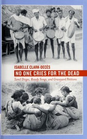 No one cries for the dead