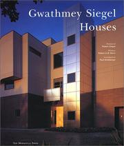 Cover of: Gwathmey Siegel
