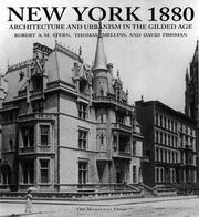 Cover of: New York 1880: architecture and urbanism in the gilded age