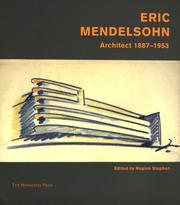 Cover of: Eric Mendelsohn