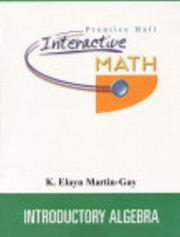Cover of: Prentice Hall Interactive Math for Introductory Algebra Student Package