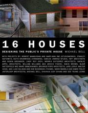 Cover of: Sixteen Houses
