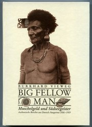 Cover of: Big fellow man