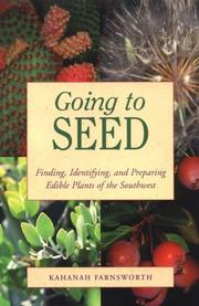 Cover of: Going to Seed