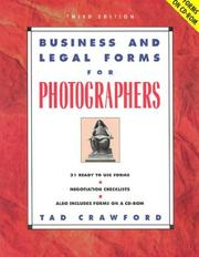 Business and legal forms for photographers by Tad Crawford