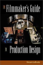 Cover of: The filmmaker's guide to production design