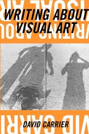 Cover of: Writing about visual art