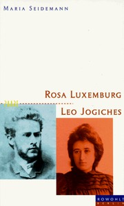 Cover of: Rosa Luxemburg und Leo Jogiches