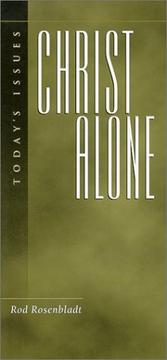 Cover of: Christ Alone (Today