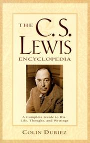 Cover of: The C.S. Lewis Encyclopedia