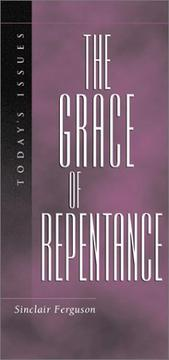 Cover of: The grace of repentance