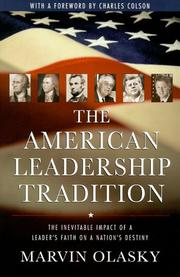 Cover of: The American Leadership Tradition