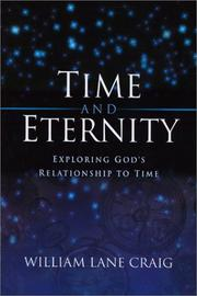 Cover of: Time and Eternity