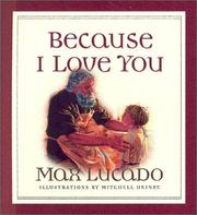 Cover of: Because I love you