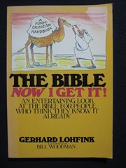 Cover of: The Bible: now I get it! | Gerhard Lohfink