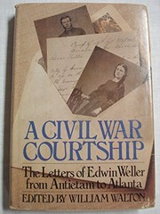 Cover of: A Civil War courtship | Edwin Weller