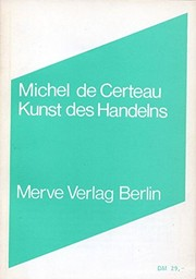 Cover of: Kunst des Handelns