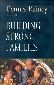 Cover of: Building Strong Families (Foundations for the Family Series) |