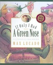Cover of: If only I had a green nose