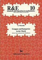 Cover of: Gruppen und Kategorien in der Musik