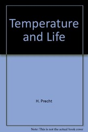 Cover of: Temperature and life |