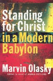 Cover of: Standing for Christ in a Modern Babylon
