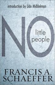 Cover of: No little people: sixteen sermons for the twentieth century