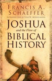 Cover of: Joshua and the flow of Biblical history