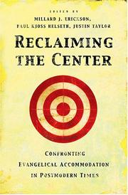 Cover of: Reclaiming The Center