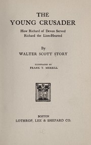 Cover of: The young crusader | Walter Scott Story