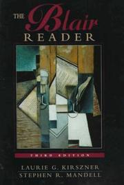Cover of: Blair Reader, The |