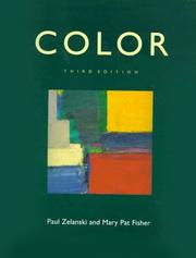 Cover of: Color | Paul Zelanski