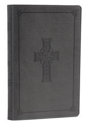 Cover of: ESV Classic Reference Bible, TruTone, Charcoal, Celtic Cross Design |