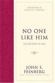 Cover of: No One Like Him |