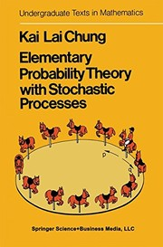 Cover of: Elementary probability theory with stochastic processes