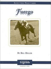 Cover of: Forego | Bill Heller