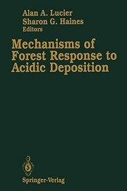 Cover of: Mechanisms of forest response to acidic deposition |