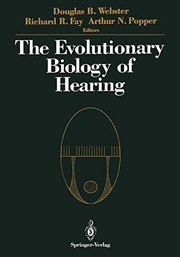 Cover of: The Evolutionary biology of hearing |