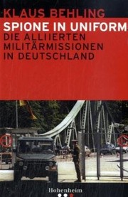Cover of: Spione in Uniform: die alliierten Milit armissionen in Deutschland