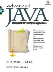 Cover of: Advanced Java