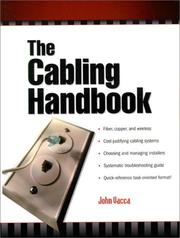 Cover of: The cabling handbook | John R. Vacca