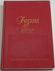 Cover of: Forms of verse: British and American | Sara DeFord