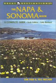 Cover of: The Napa & Sonoma Book | Timothy Fish