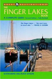 Cover of: The Finger Lakes Book | Katharine D. Dyson