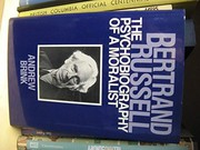 Cover of: Bertrand Russell, a psychobiography of a moralist | Andrew Brink