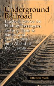 Cover of: Underground railroad