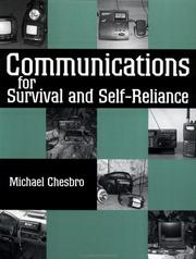 Cover of: Communications for Survival and Self-Reliance | Michael Chesbro