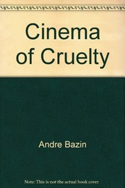 Cover of: The cinema of cruelty