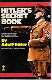 Cover of: Hitlers zweites Buch
